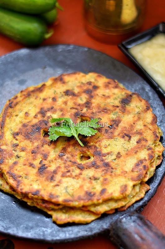 Foodelicious: काकडीचे थालीपीठ | Kakadiche Thalipeeth
