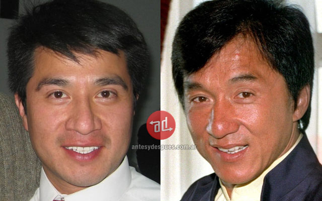 Celebrity Look-alikes: Andres Jackie Chan