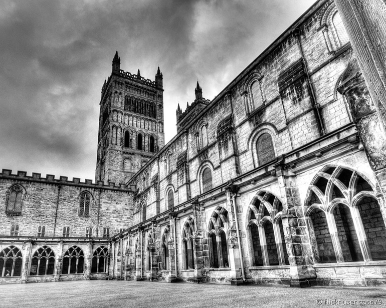 Durham cathedral from flickr user gaco79