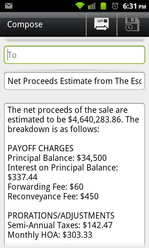 The Escrow Firm- screenshot