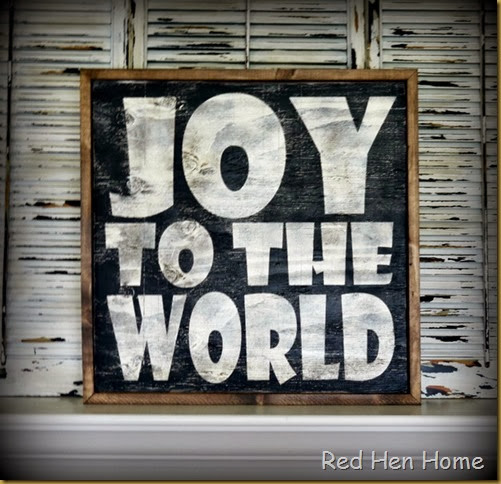 Red Hen Home Joy to the World