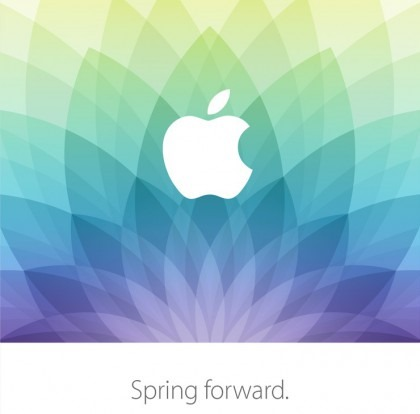 Apple Spring forward March 2015 event