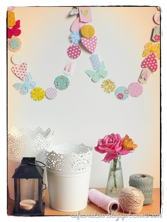 cafe creativo - Anna Drai - big shot sizzix - paper garland (1)