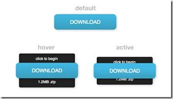 Aspecto del botón CSS, por defecto, hover y activo