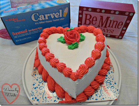 Wegmans Valentines Day Ice Cream Cake