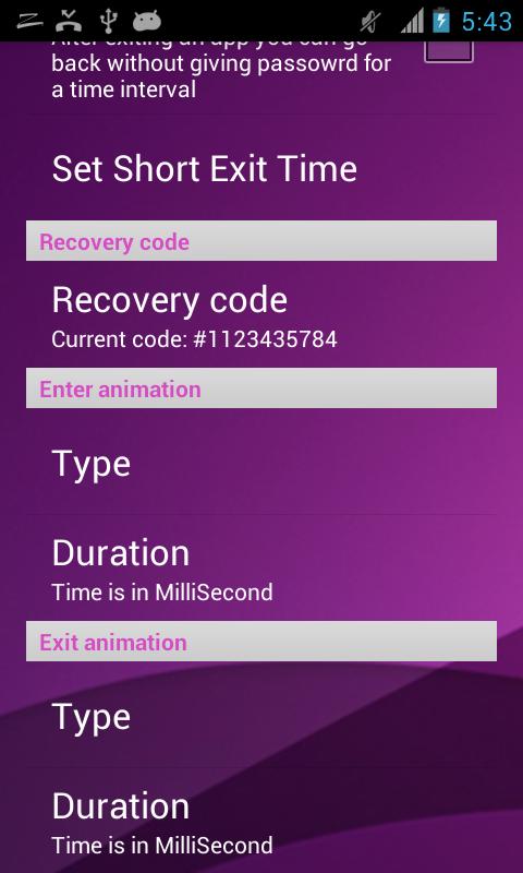 apps sperren muster passwort screenshot - Muster Passwort