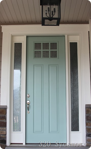 Curb Appeal Front Door Inspiration Paint Colors