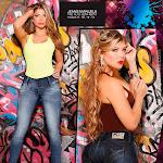Angelica Jaramillo y Sofia Jaramillo Modelando D'Axxys Jeans Foto 17
