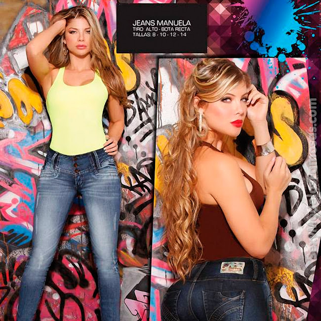 Angelica Jaramillo y Sofia Jaramillo Axxys Jeans Foto 17