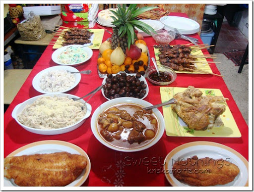 Imagenes De New Years Eve Pinoy Food