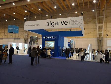 Targ turism Portugalia: Stand Algarve