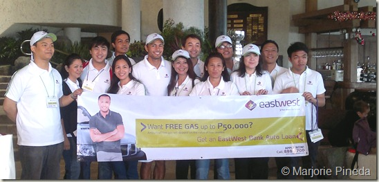Derek & EastWest Bank Staff