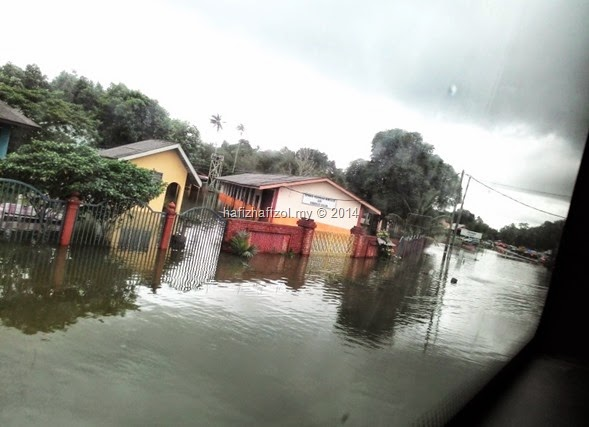 banjir kemaman terengganu