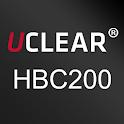 UCLEAR HBC200 instruction icon