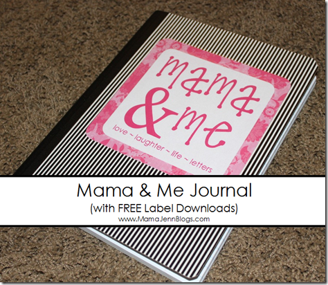 Mama and Me Journal