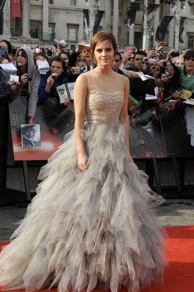 Emma Watson Harry Potter And The Deathly Hallows Part 2 UK Premiere