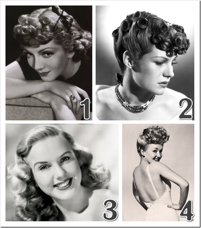 1940's hairstyle inspiration 2
