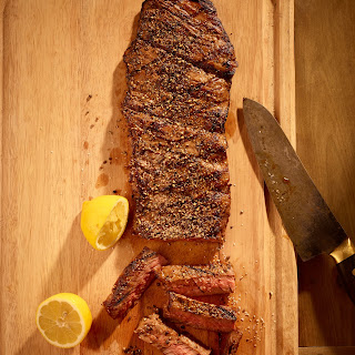 Tim Love's Barbecue Skirt Steak.