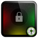 Rasta Circle theme Go Locker icon