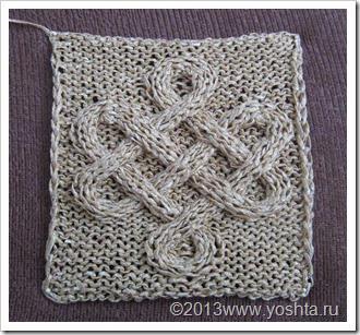 уголок Yoshta вселенная элизбар кельтские узоры и техника вязания