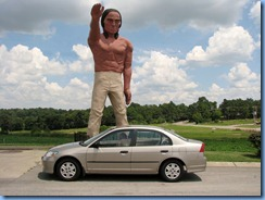 9917a Cross Plains, Tennessee - Muffler Man - Indian
