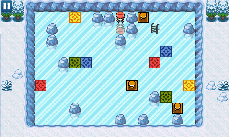 Slide'n Escape Sokoban Pokémon - screenshot