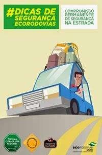 Dicas de Segurança, por Ecorodovias