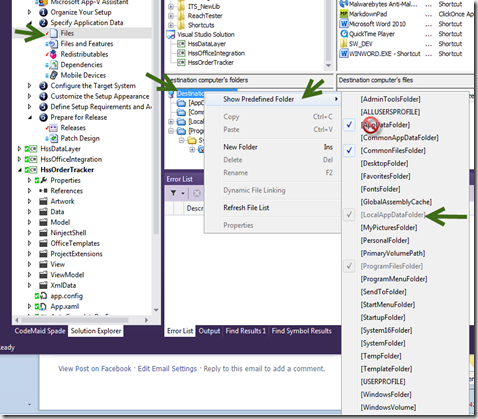 InstallShield Limited Edition and VS2012 | Tod's Tech Tomes