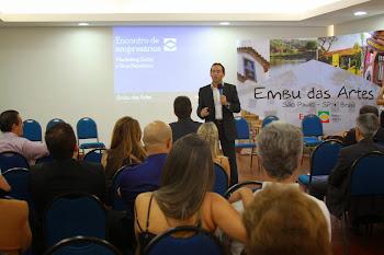 Governo fortifica parceria com empresários da cidade - Prefeitura de Embu