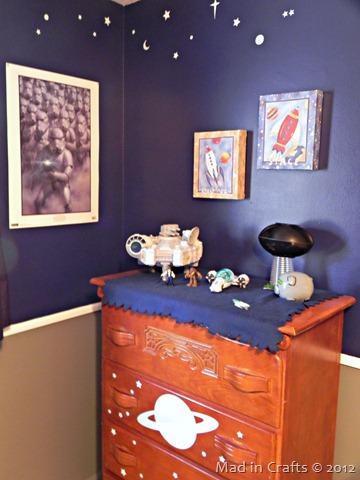 space geek bedroom dresser