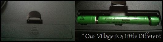Ozeri Scale - batteries