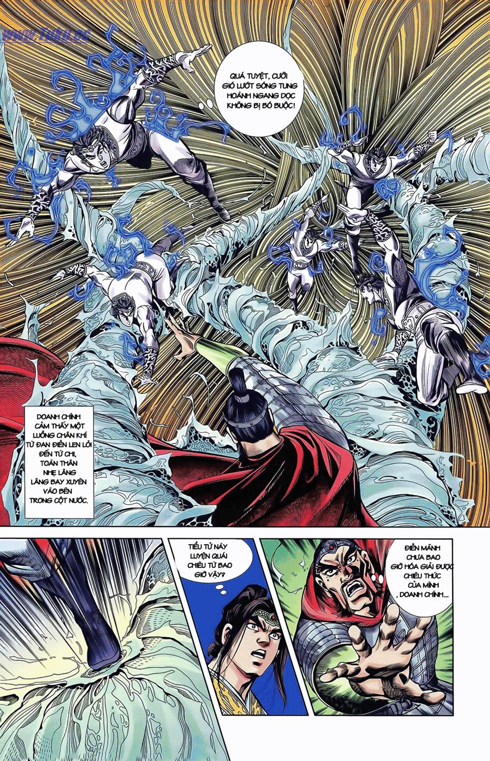 Tần Vương Doanh Chính chapter 11 trang 16