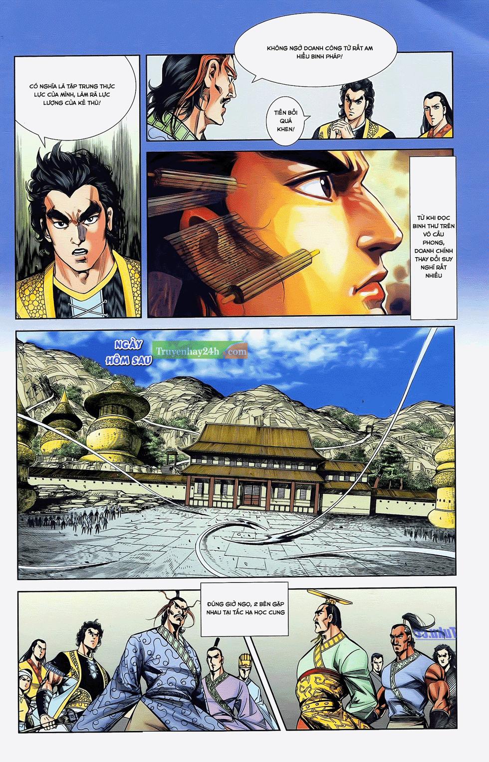Tần Vương Doanh Chính chapter 22 trang 6