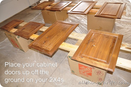 Inspirational How to paint your kitchen cabinets professionally All Things Thrifty
