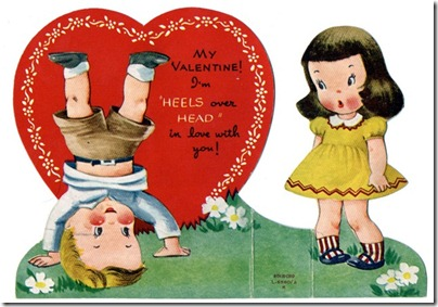 free-vintage-valentine-card-two-kids-head-over-heels