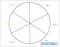 Rainbow Summer Activities Color Wheel Download A Printable