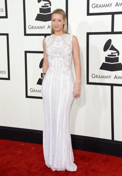 Iggy Azalea attends the 56th GRAMMY Awards
