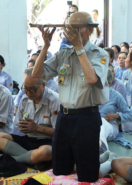 DSC06411 Lễ Hiệp kỵ   Lễ Huý Nhật Cư sĩ Sáng lập viên GĐPT Việt Nam   Tâm Minh Lê Đình Thám