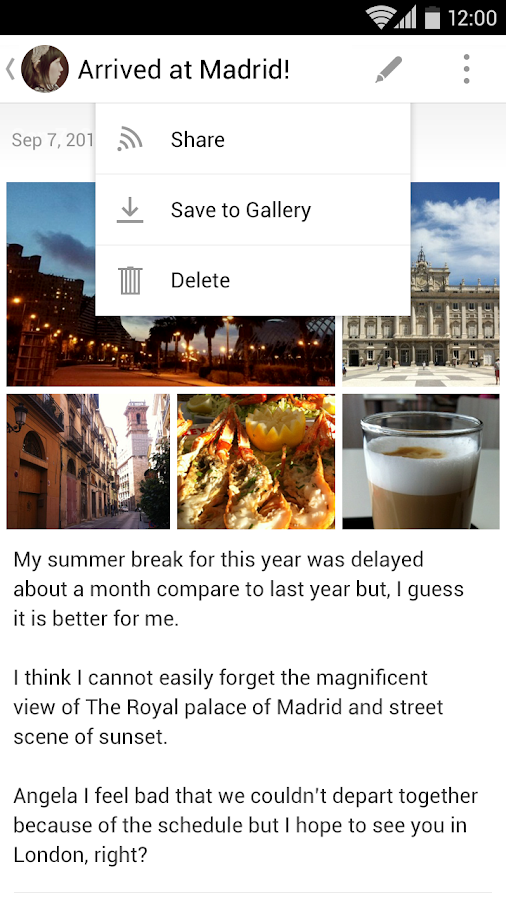 Flava™ - Note/Journal - screenshot