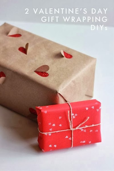 Pon corazones hasta en el envoltorio del regalo
