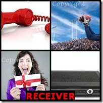 RECEIVER- 4 Pics 1 Word Answers 3 Letters