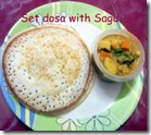 49 - Set dosa with Sagu