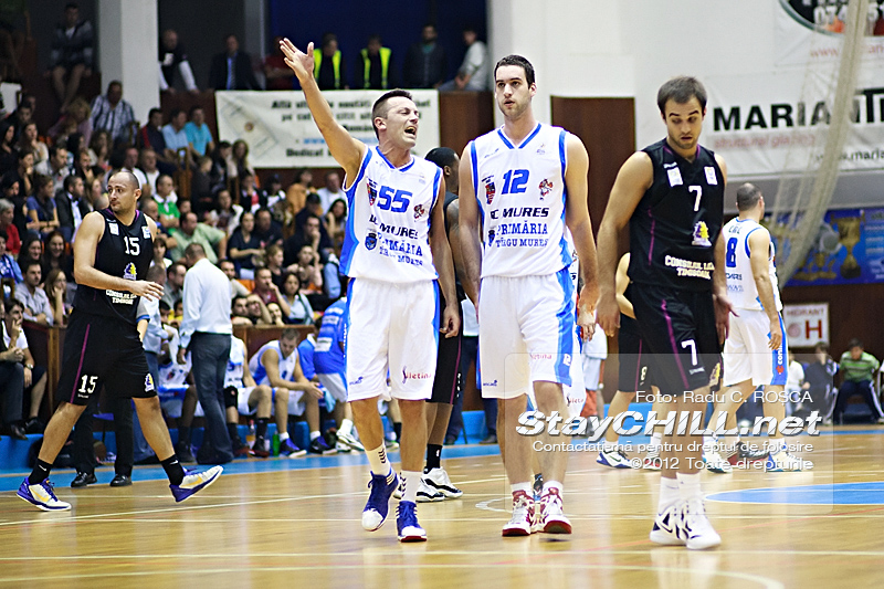 Branko Cuic & Darko Balaban / BC Mureș - BC Timișoara (Cupa României), 5 octombrie 2012