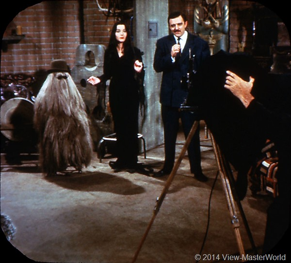 View-Master The Addams Family B486 Scene 08