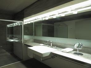 diseño de baño casa ba bak arquitectos