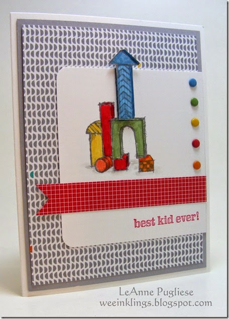 LeAnne Pugliese WeeInklings Boys Will Be Boys Stampin Up