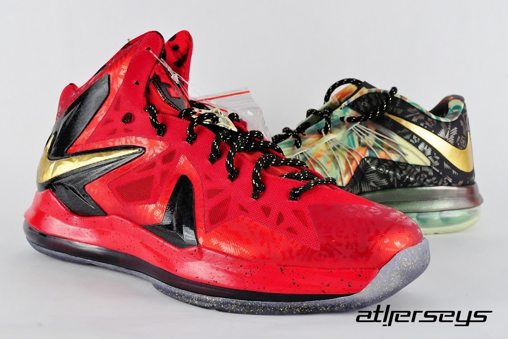 09da9ed35f1 Probably the Nicest Photo Set of Nike LeBron X Championship Pack ...