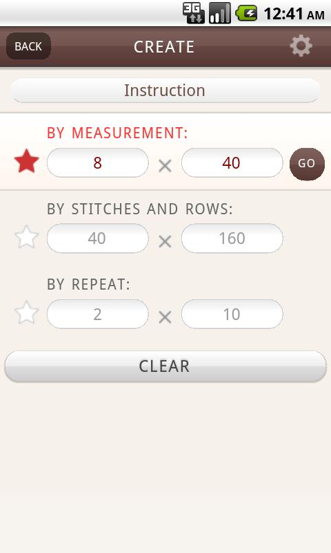 Gaugefy: Knitting Gauge- screenshot