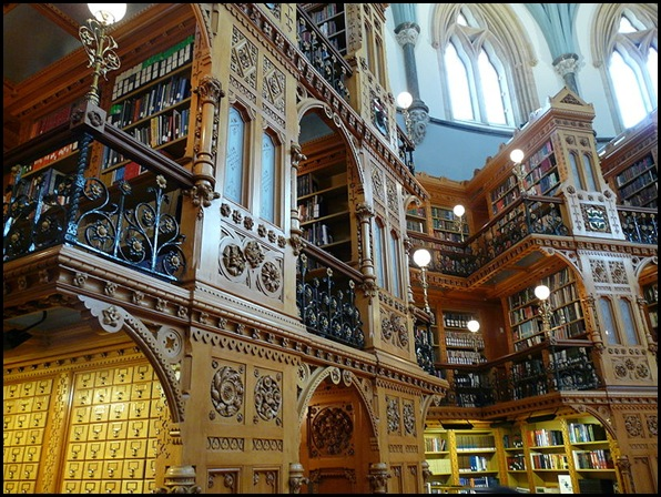 Canadian Library of Parliament, Ottawa, Canada 03