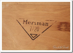 Mersman 7720 side table